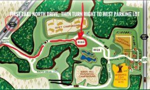 Bird's Hill Park Map