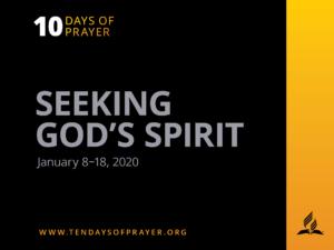 10 days of prayer theme