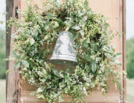 bell in wreath
