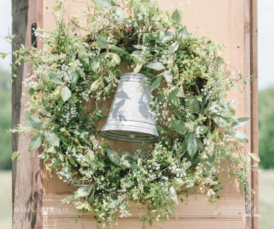 bell in wreath